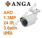 "AHD Bullet ������ �� ���������� Cmos 1/3"" SONY �� ���� 3.6mm ��� ������� 1.3MP AQ-3108S-AHD"