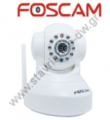 FI8918W / W FOSCAM ������� ��������� IP ������ �� ������� WiFi/Ethernet ��� Pan/Tilt �� ����� �����