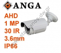 "������ AHD Bullet �� ���������� 1/4"" CMOS �� ������� 720p 1MP ��� ���� 3,6mm AGE-1701-SAHD"