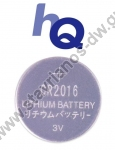 �������� ������ (������) 3V HQ-CR2016/5BL