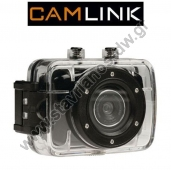 "Action ������ HD 720p �� ����� ���� 2"" ��� ������������ ��������� CAMLINK CL-AC10"