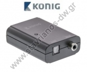 �������� ����������� ���� ��� S/PDIF (RCA) ������ �� TosLink ������ KNA CO2500
