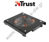 "����������� cooler ��� Notebook ��� 17.3"" �� ������� ���������� ���������� ��� ��������� ��������� ��������� TRUST 19142"
