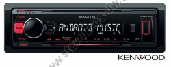 KENWOOD KMM-102RY RADIO USB / AUX με ισχύ 4 x 50W max συμβατό με Android
