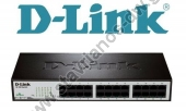D-LINK 24-Port Ethernet 10/100 Unmanaged Desktop Rackmount Switch D-LINK DES-1024D