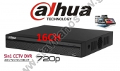 DAHUA XVR4116HS DVR Καταγραφικό 16 Channel Penta-brid 720P (1MP) Smart 1U Digital Video Recorder