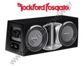 "P2L-212  Κούτα Subwoofer 2 x 12"" σειράς Punch της Rockford Fosgate 800W max"